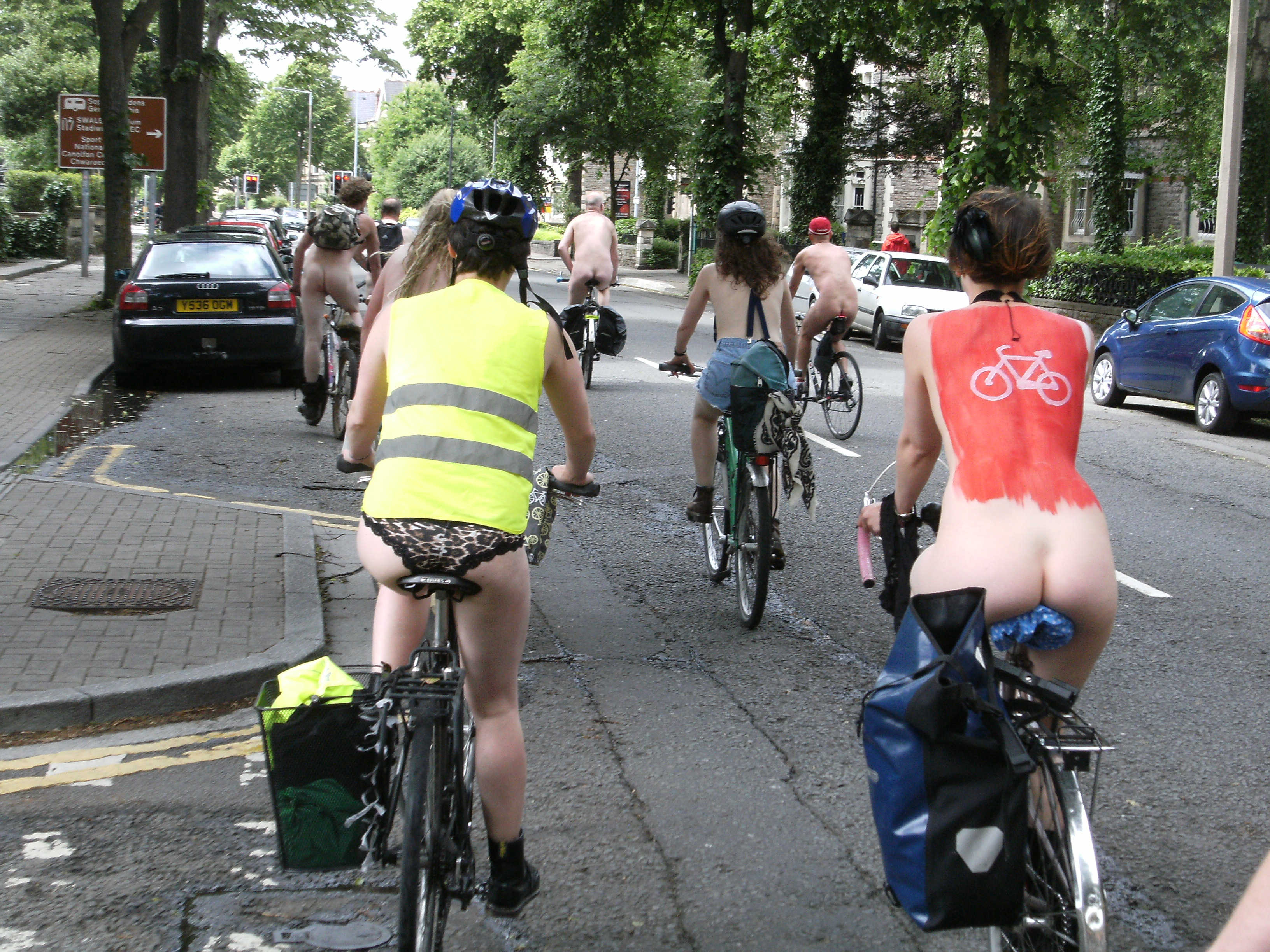 Cardiff university students strip for naked calendar to raise money