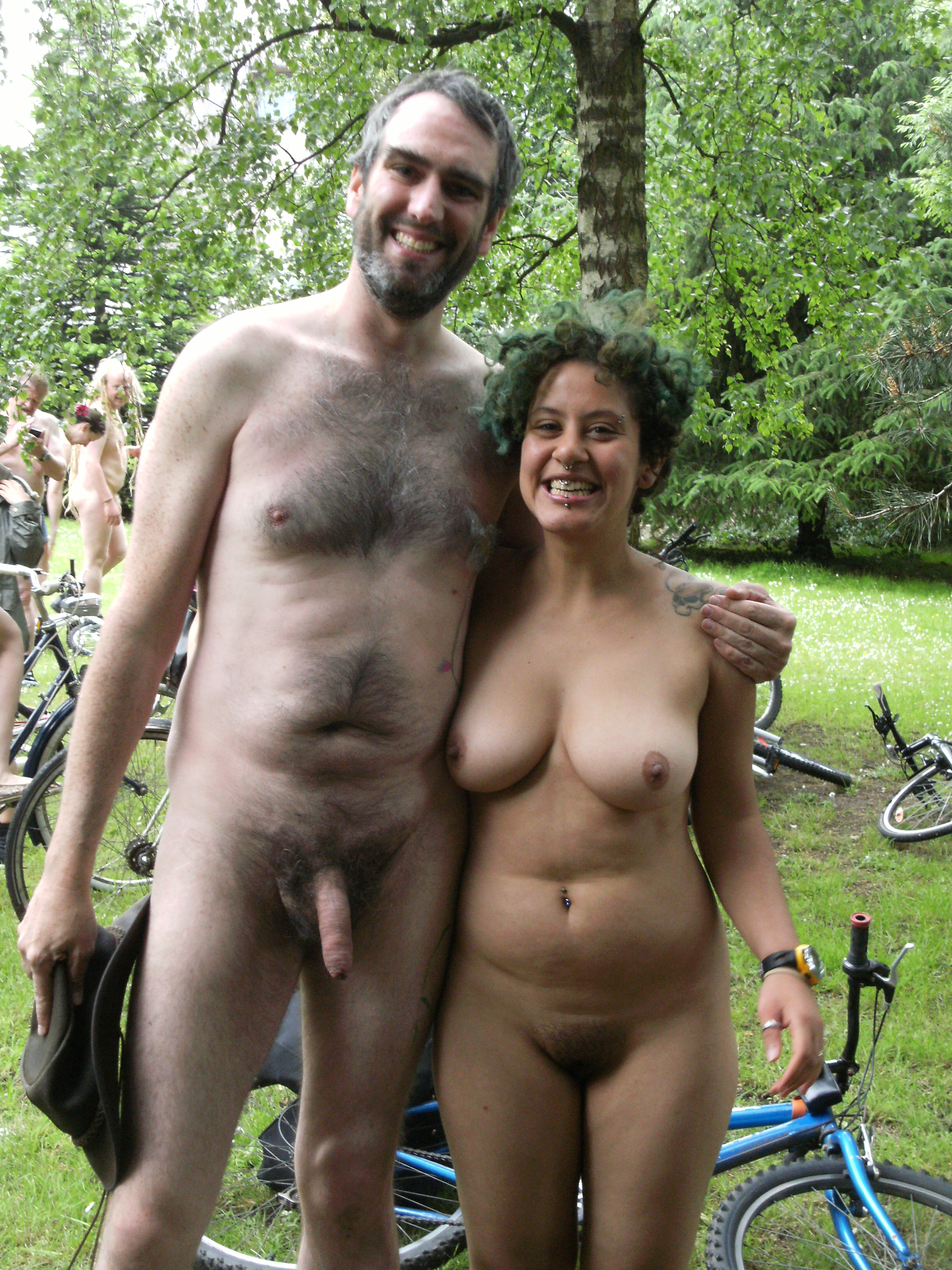 pics of naked boob couple